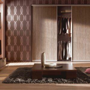 Ideja dnevna soba vgradna omara