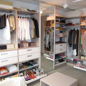 Izvedba garderobe izi
