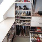 Mansardna garderobna soba