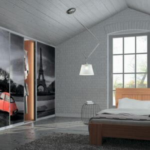 Mansardna spalnica