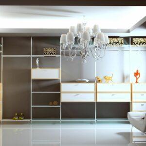 Moderna garderobna soba