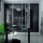 Moderna minimalisticna pisarna