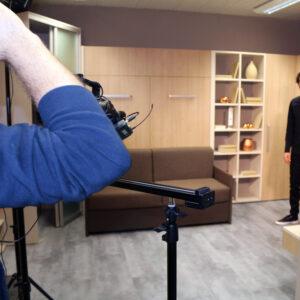 Oddaja Ambienti RTV SLO in IZI mobili