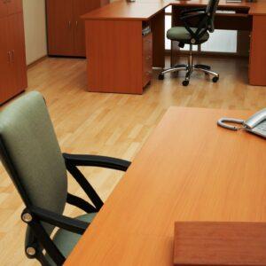 Svetlen pisarniski prostor